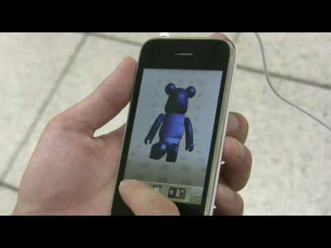 MEDICOM TOY   BE@RBRICK W@TCH iPhone App Video