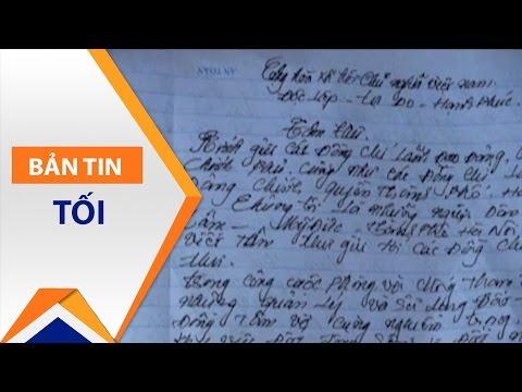 Tâm thư của xã Đồng Tâm gửi Chủ tịch Chung | VTC1 - Thời lượng: 2 phút, 16 giây.