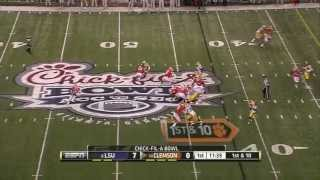 Craig Loston vs Clemson (2012 Bowl)