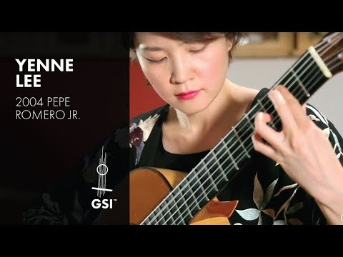 Autumn Leaves - Yenne Lee plays 2004 Pepe Romero Jr. (видео)