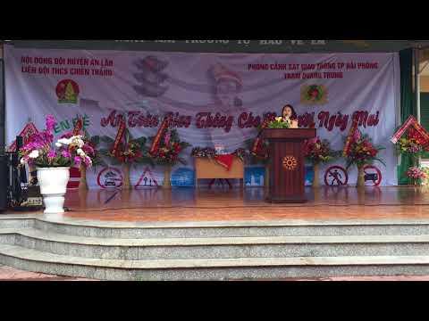 CHUYÊN ĐỀ AN TOÀN GIAO THÔNG TRƯỜNG THCS CHIẾN THẮNG NĂM HỌC 2017-2018