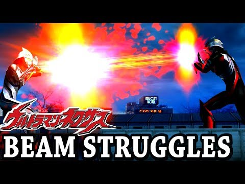 Ultraman Nexus - Beam Struggles - Anphans Vs All ( 1080p Hd )