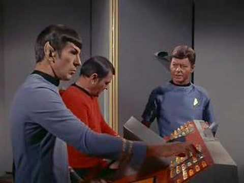 TOS Obsession transporter scene