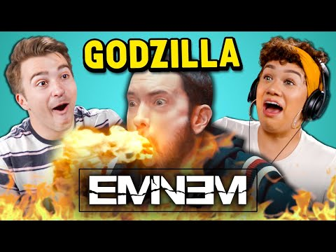 Eminem - Godzilla ft. Juice WRLD | Adults React