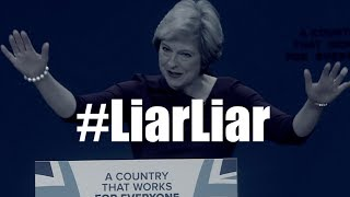 'She's a liar, liar': anti- UK PM Theresa May song