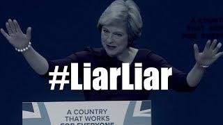 'She's a liar, liar': anti- UK PM Theresa May song
