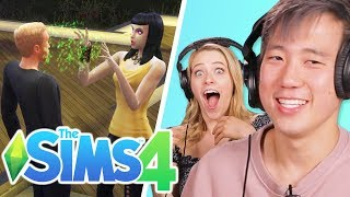 Worth It's Steven Controls Andrew's Life In The Sims 4
