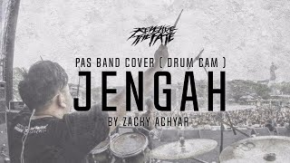 REVENGE THE FATE -  JENGAH  ( PAS BAND COVER DRUM CAM )
