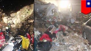 台湾で飛行機墜落 48人死亡(ニュース)