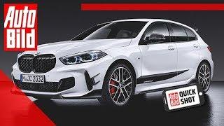BMW 1er M Performance Parts (2019): Exterior - Kompakt - Quickshot by Auto Bild