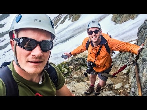 EPIC MOUNTAINEERING! (видео)