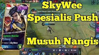 Download Video SkyWee : Raja Zilong Sedunia !! Musuh Kewalahan Lawan SkyWee MP3 3GP MP4