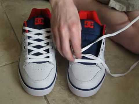 Simple How To Lace Shoes Normal Way and with No Bow