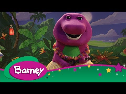 Barney 📖 Barney's Travel Book: Hawaii 😎 Let's Go on Vacation ✈️