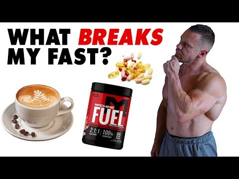 Weight loss pills - Does THIS Break Your Fast?  Tiger Fitness