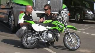 10. Kawasaki KLX 110 Product Review