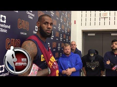 Video: LeBron James talks worst preseason and Cavaliers' Halloween party | NBA on ESPN