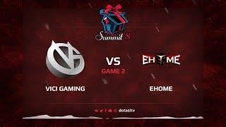 Vici Gaming против EHOME, Вторая карта, Квалификация на Dota Summit 8