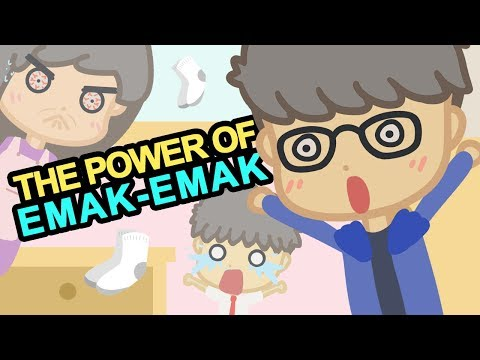 KARTUN LUCU - THE POWER OF EMAK EMAK