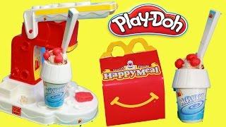 PLAY-DOH  McDonalds McFlurry Ice Cream Dessert HAPPY MEAL SURP...