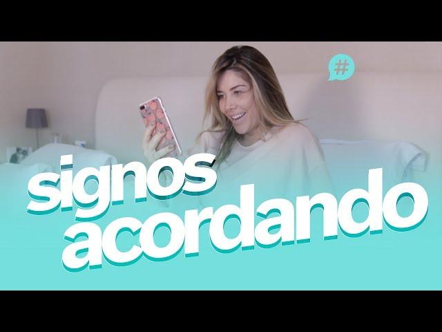 Como os signos acordam!? #MicaSignos - Mica Rocha