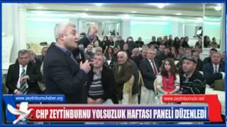 CHP Yolsuzluk Haftası Paneli Düzenledi