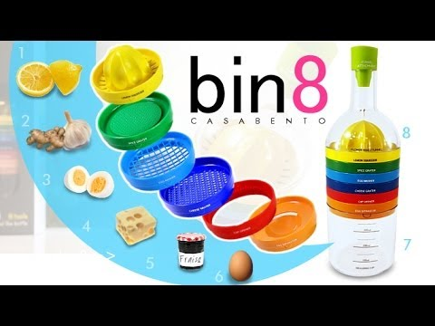 Bin Kitchen Tool Like Bottle (8 tools)