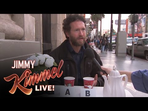 Starbucks - Jimmy Kimmel Live - New $7 Cup of Coffee at Starbucks Jimmy Kimmel Live's YouTube channel features clips and recaps of every episode from the late night TV s...