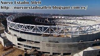 Atlético de Madrid's new 67,000-capacity stadium