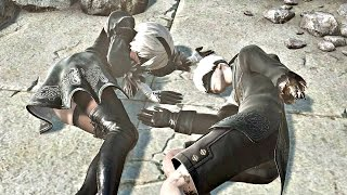 Video Nier Automata - Ending D & True Ending E (Secret TRUE Ending) MP3, 3GP, MP4, WEBM, AVI, FLV Desember 2018