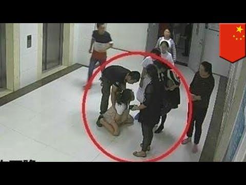 Mujer embarazada salta de la ventana de hospital al no recibir aprobación para cesárea - TomoNews