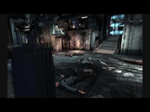 Batman: Arkham Asylum Game of the Year Edition (CD-Key, Steam, Region Free) Gameplay