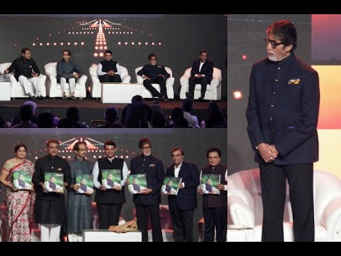 Amitabh Bachchan At Launch Of Pictorial Biography Of Praful Patel