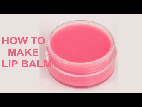 How to make lip balm at home in easy way
