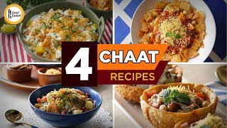 4 Special Chaat Recipes By Food Fusion