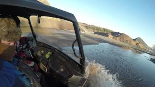 10. arctic cat prowler  hdx 700 xt ride to the rock Quarry