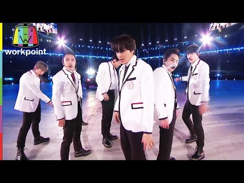 EXO | Growl, Power | Winter Olympic 2018 (видео)