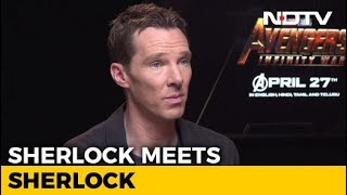 Video Robert Downey Jr & I Discussed 'Sherlock' Only Once: Benedict Cumberbatch MP3, 3GP, MP4, WEBM, AVI, FLV Oktober 2018