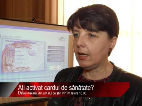 Diseară la știri VP TV: Ați activat cardul de sănătate?
