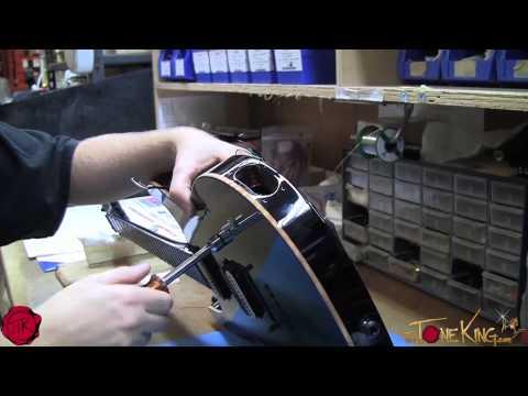 Carvin Custom Guitar Build : Final Finish, Electronics, Set-Up & Ship!