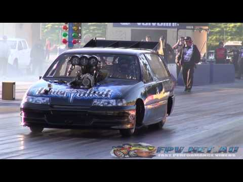 Blown V8 Hearse runs in the 6s