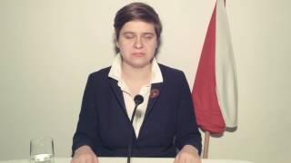 Parodia orędzia Szydło – nowy program – kurz.