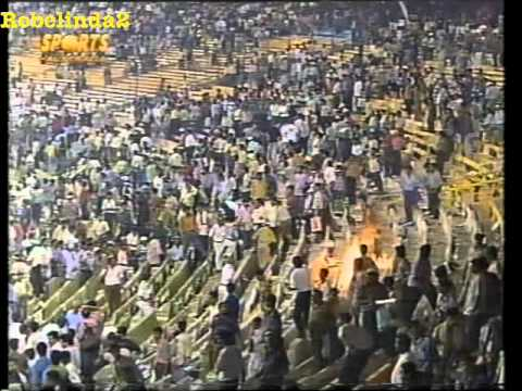 Disgusting Indian crowd, World Cup, Semi Final, Calcutta, 1996