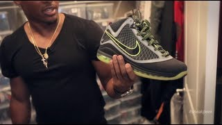 "A ""Sneak Peek"" Inside Marcus Gilchrist's Sneaker Closets"