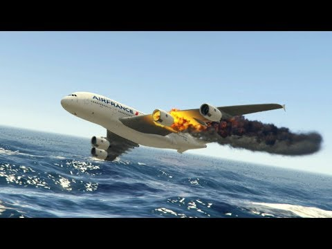 GTA 5 - Amazing\terrible PLANE CRASH Compilation #9  (This Is GTA5 Game)...