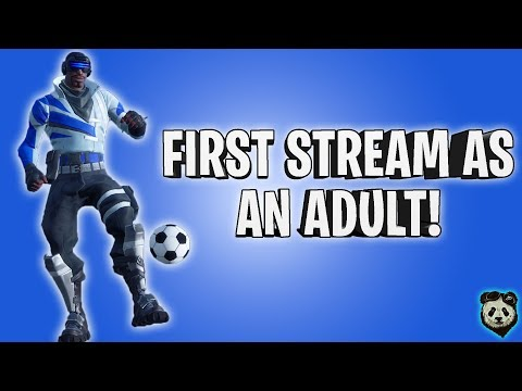 Fortnite | First Stream As An Adult! | Free PSN Outfit Rep | PC