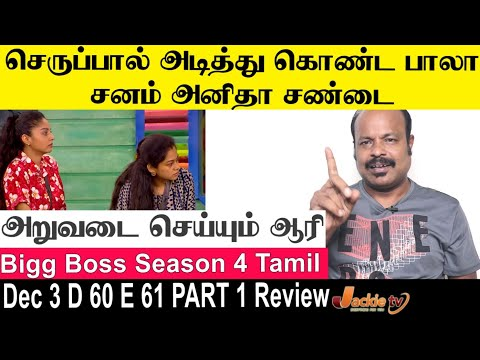 Anitha Sanam போட்ட சண்டை | Bigg Boss 4 Tamil Day 60 Episode 61 Part 1 Review By #Jackiesekar