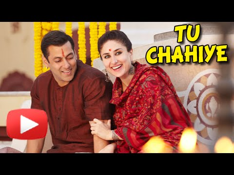 Salman Khan Romances Kareena Kapoor in Tu Chahiye