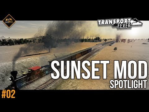 The Sunset Mod and Smoke Reduction Spotlight | Transport Fever Metropolis part 2