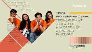 Download Video Trivia Jefri Nichol, Amanda Rawles, Susan Sameh, dan Devano Danendra MP3 3GP MP4